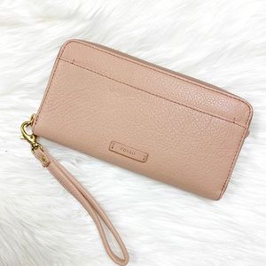 Fossil || Zip Clutch Wallet